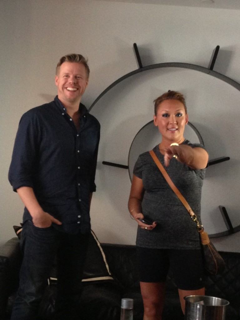 WIth longtime client Ferry Corsten