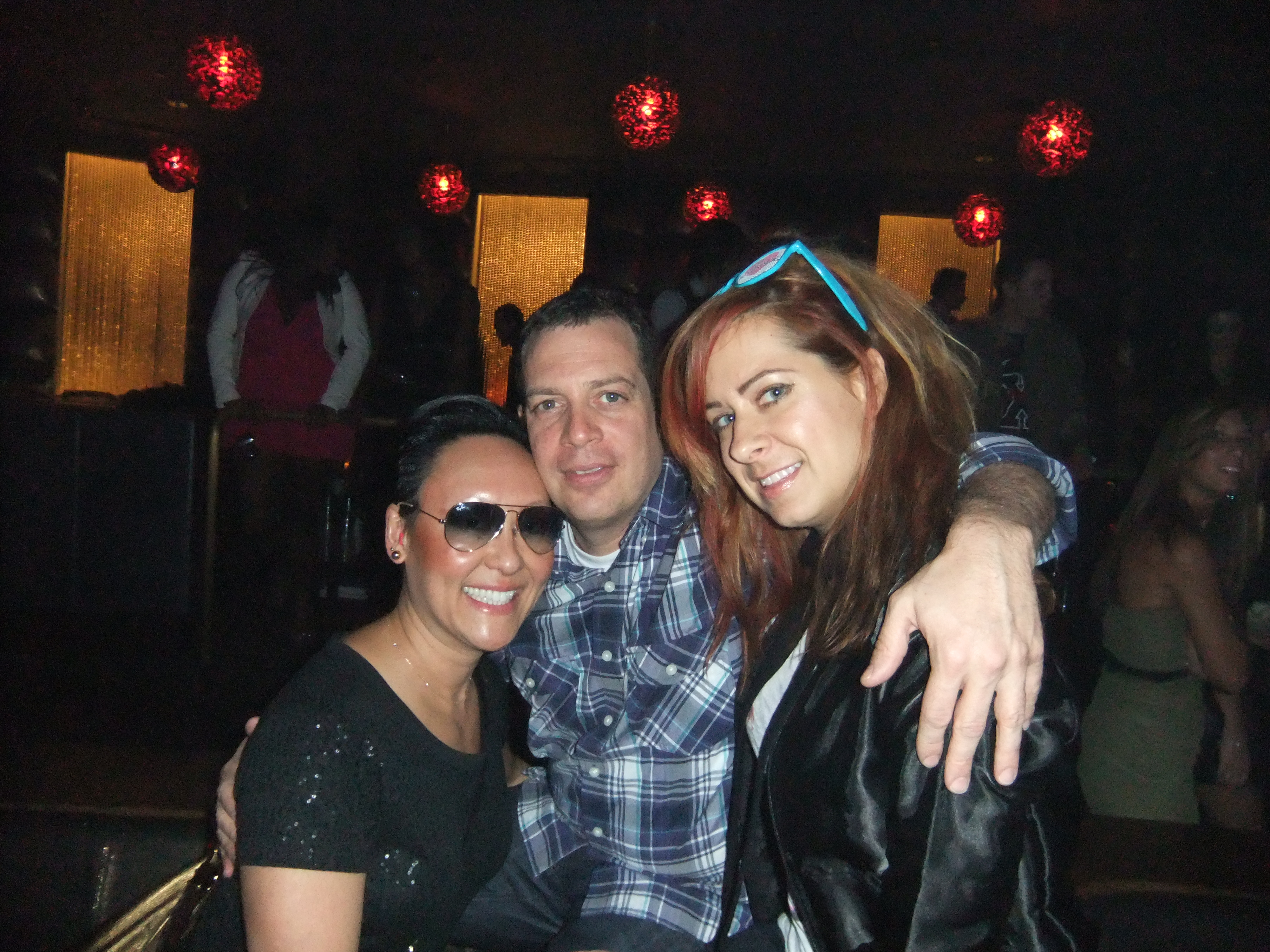 With Z-Trip and a friend